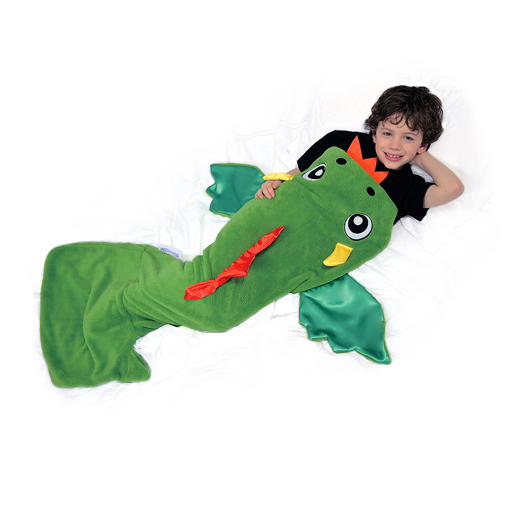 Snuggie Tails Dragon Blanket 4 1/4in x 11in | Party City