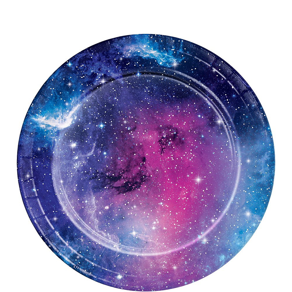 Nav Item for Galaxy Dessert Plates 8ct Image #1
