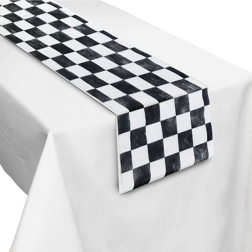 Checkerboard Table Runner Image #1