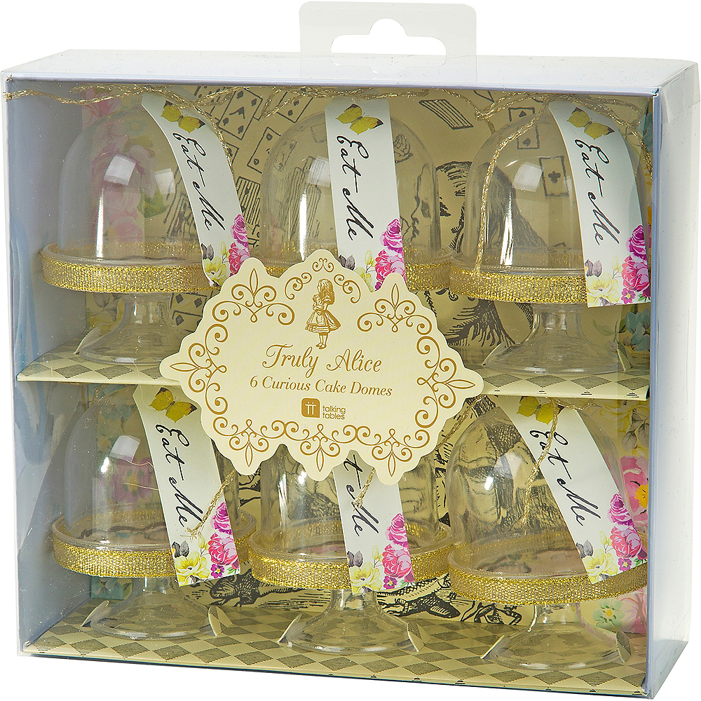 Alice in Wonderland Mini Cake Stands 6ct Image #4