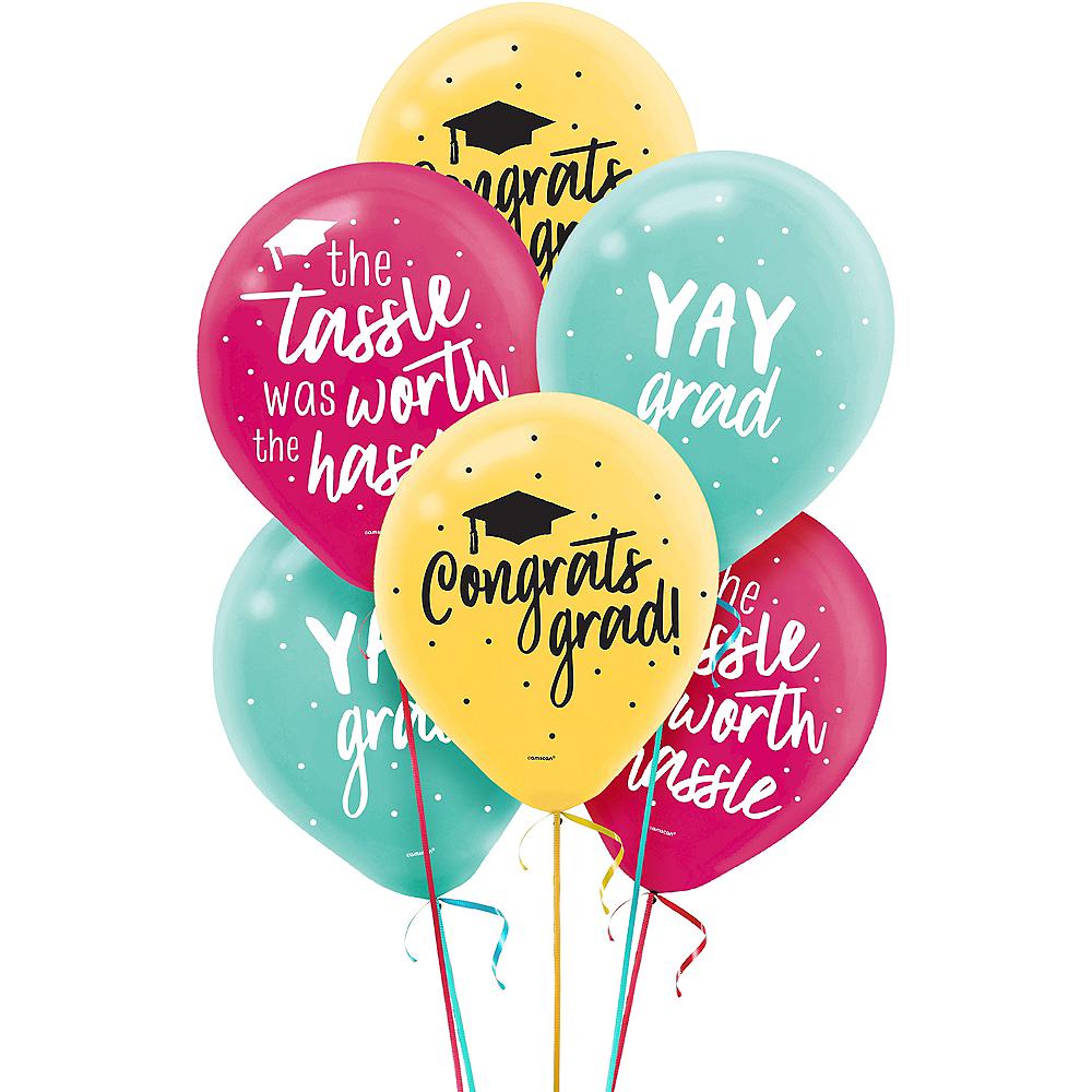 Yay Grad Balloons 15ct Image #1
