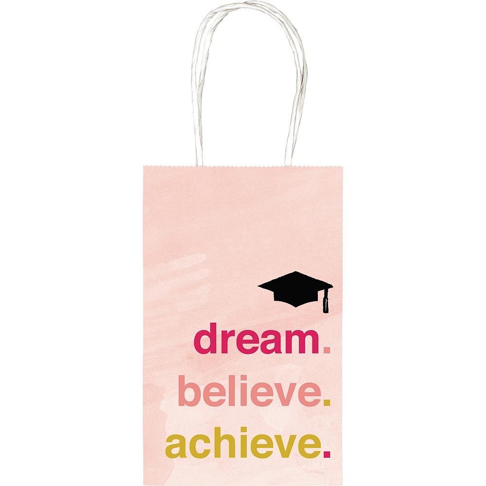Dream Believe Achieve Graduation Kraft Bag Image #1