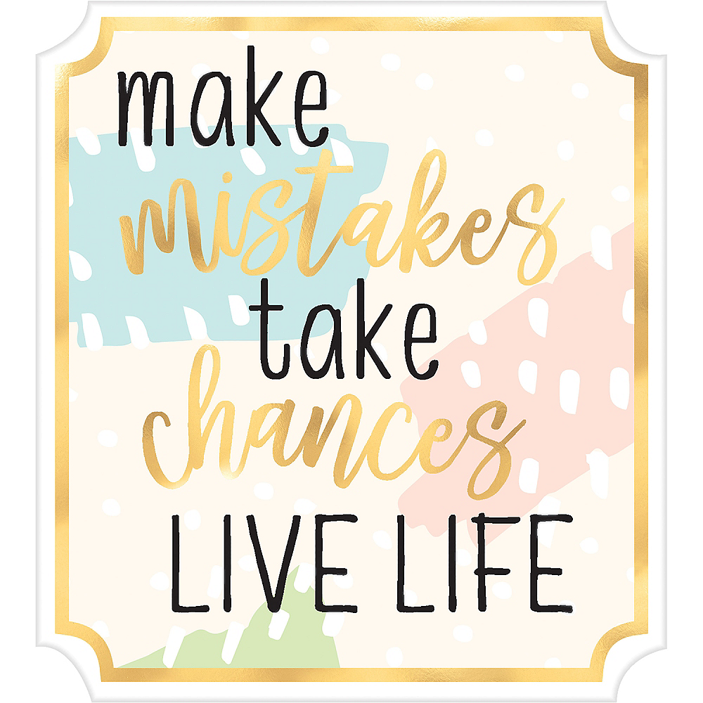 Mini Live Life Easel Sign Image #1