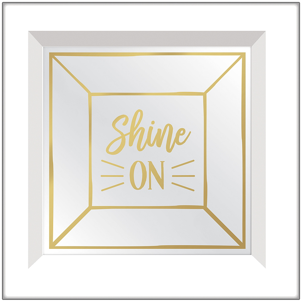 Shine On Mirror Sign Image #1