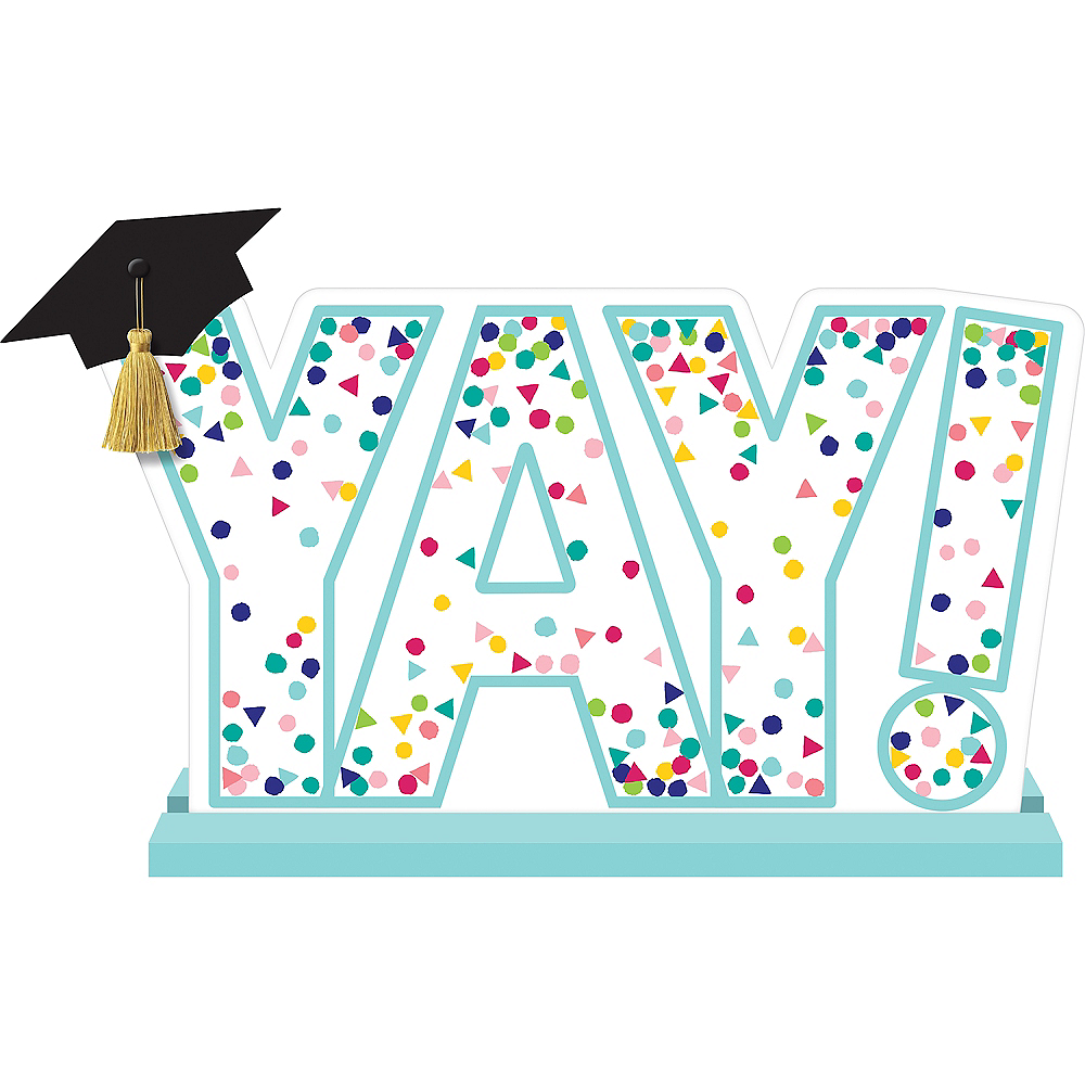Yay Grad Table Sign Image #1