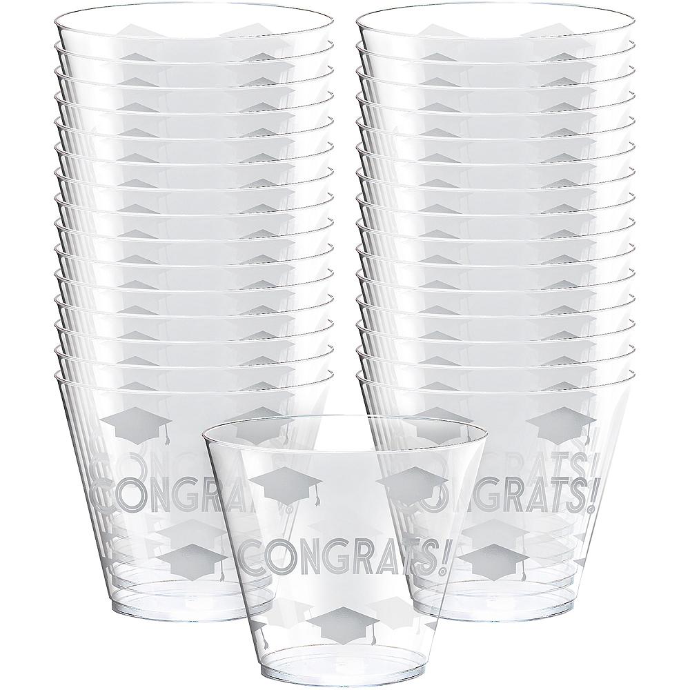 Grid Graduation Plastic Cups 30ct Image #1