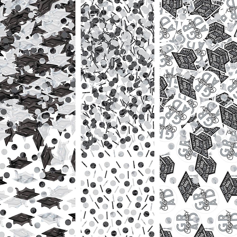 Grid Graduation Confetti Image #1