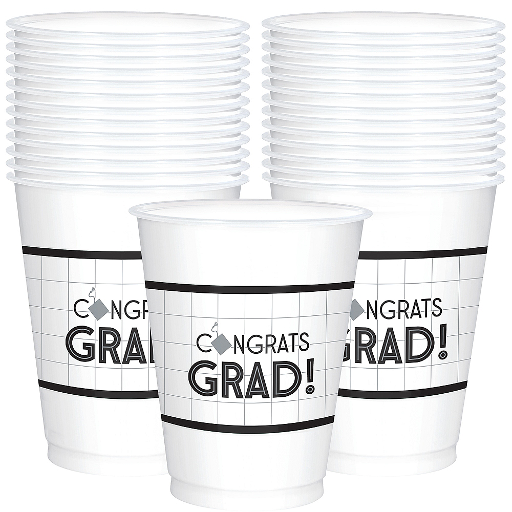 Nav Item for Grid Graduation Cups 25ct Image #1