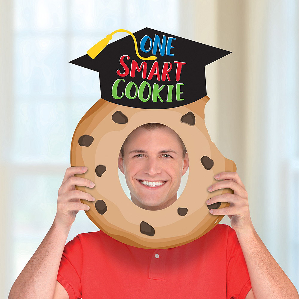 Inflatable Smart Cookie Graduation Frame Image #1
