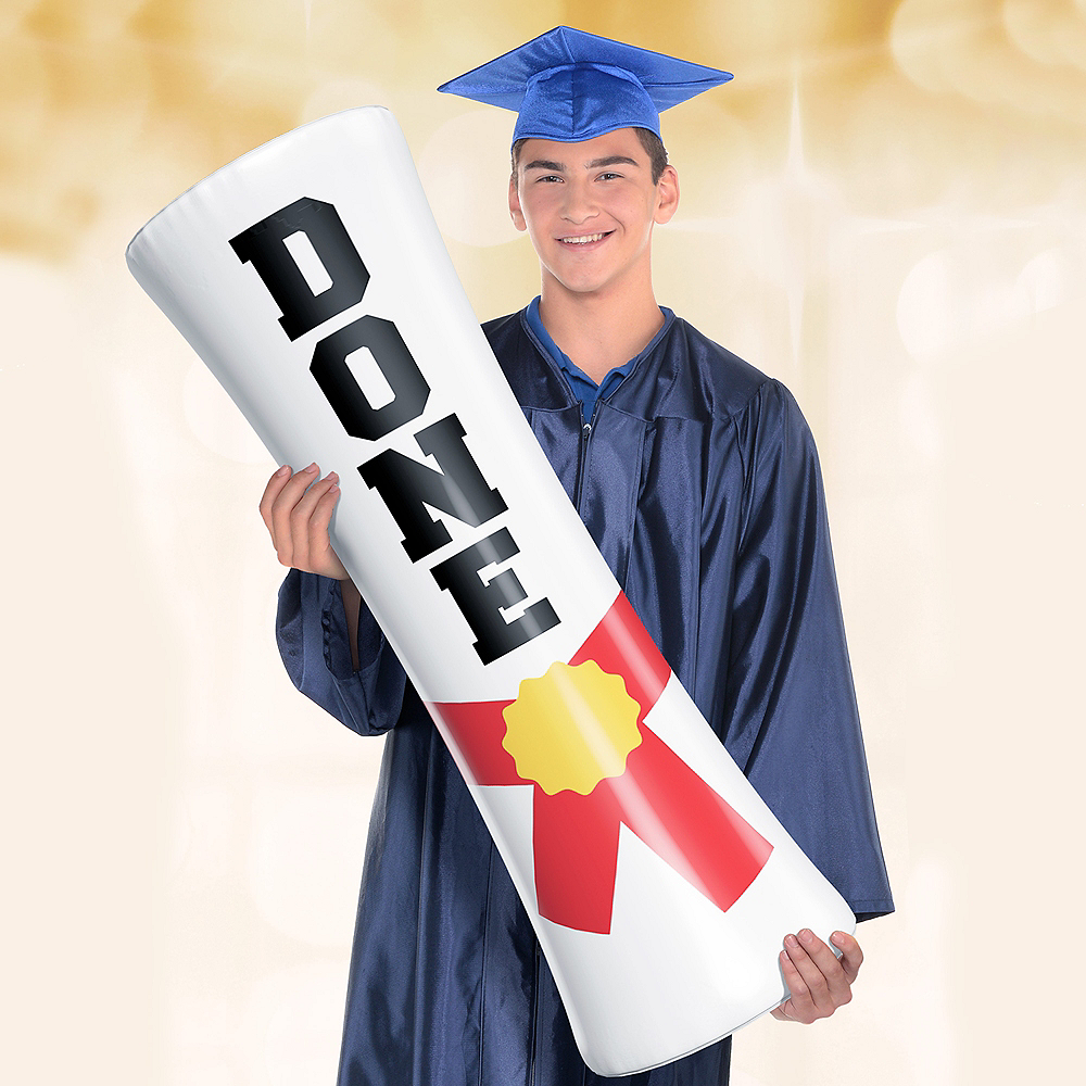 Giant Inflatable Diploma Photo Prop Image #1