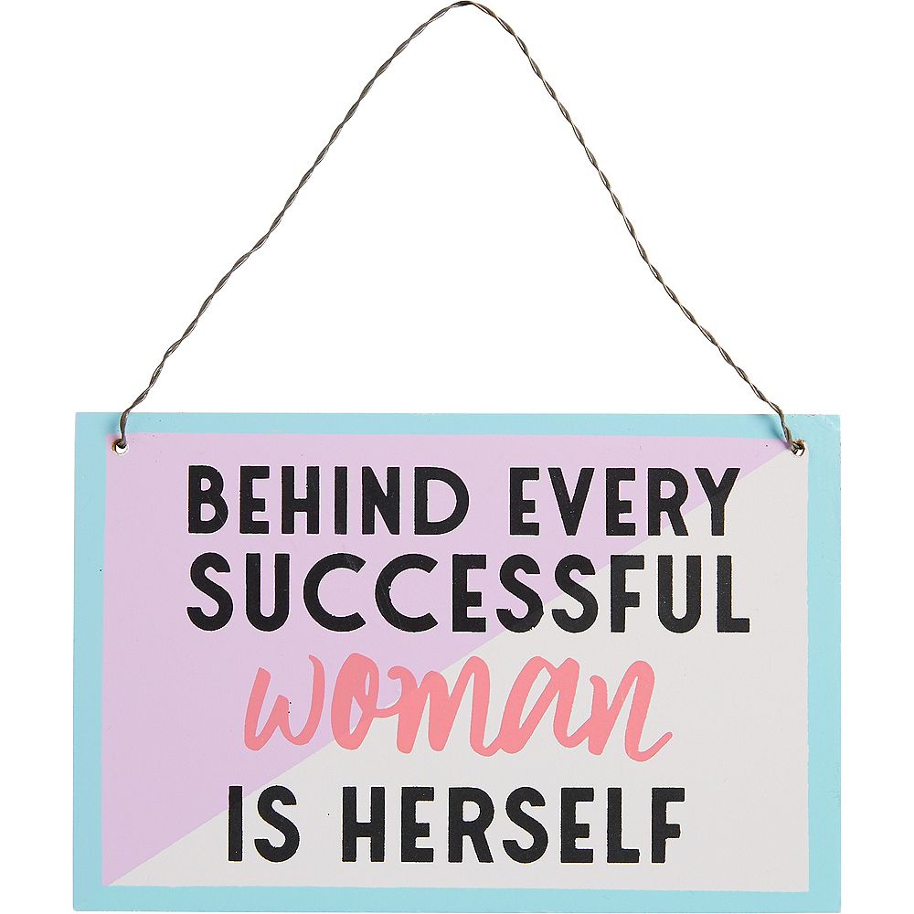 Successful Woman Sign Image #1