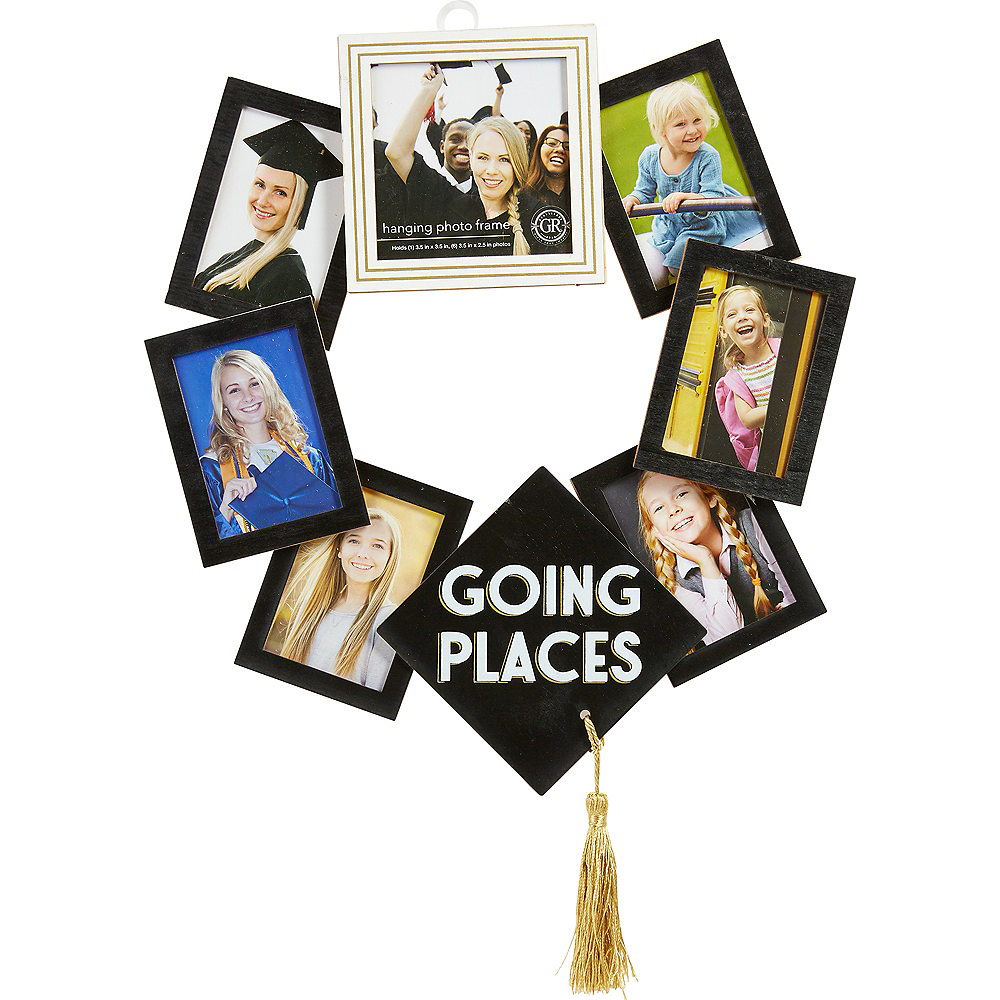 Party City Graduation Picture Frames: Graduation Photo Frame Wreath 12in