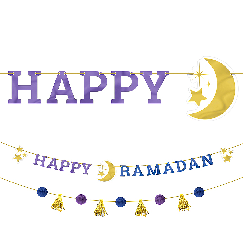 Ramadan Letter Banner with Mini Banner Image #1