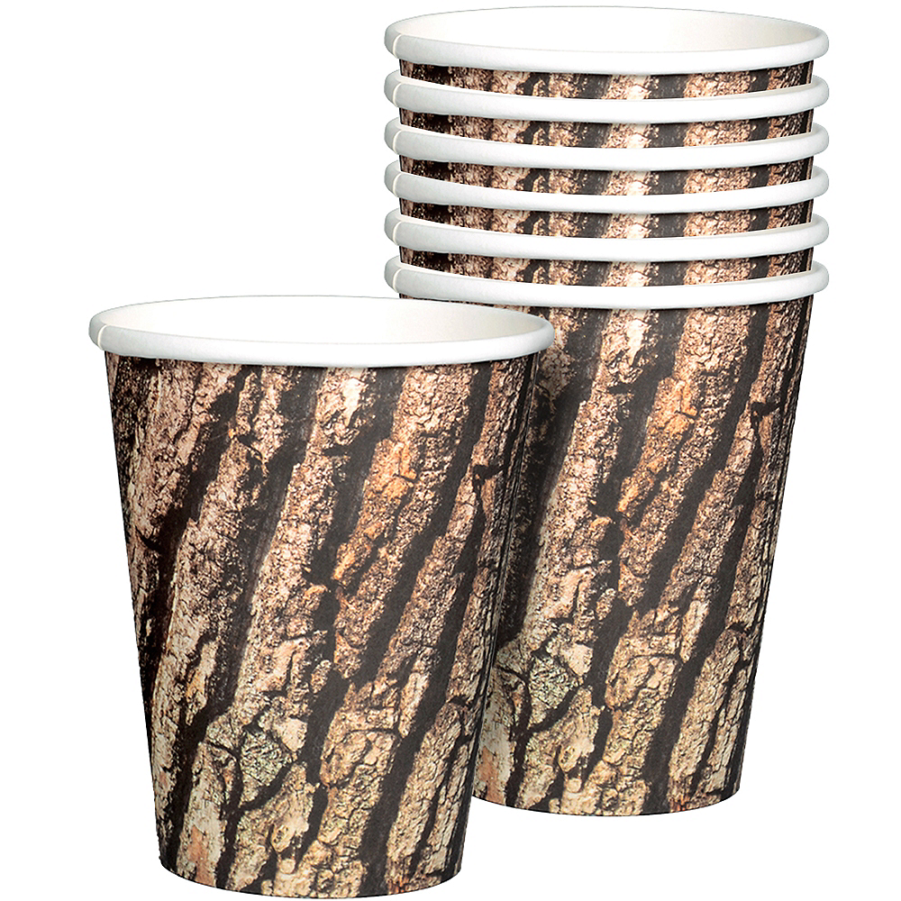 Cut Timber Cups 8ct Image #1