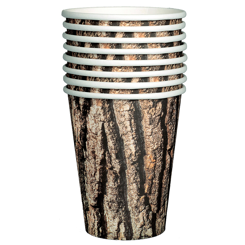 Cut Timber Cups 8ct Image #2