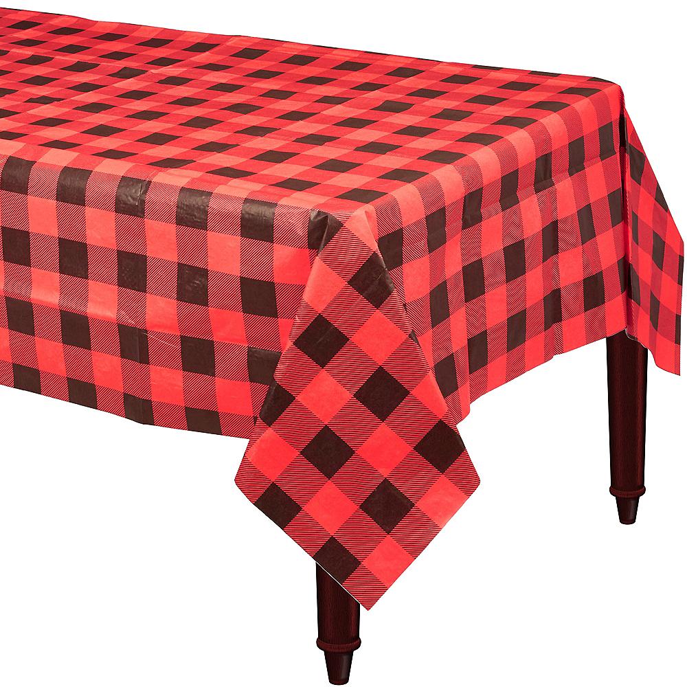 Buffalo Plaid Table Cover Image #1