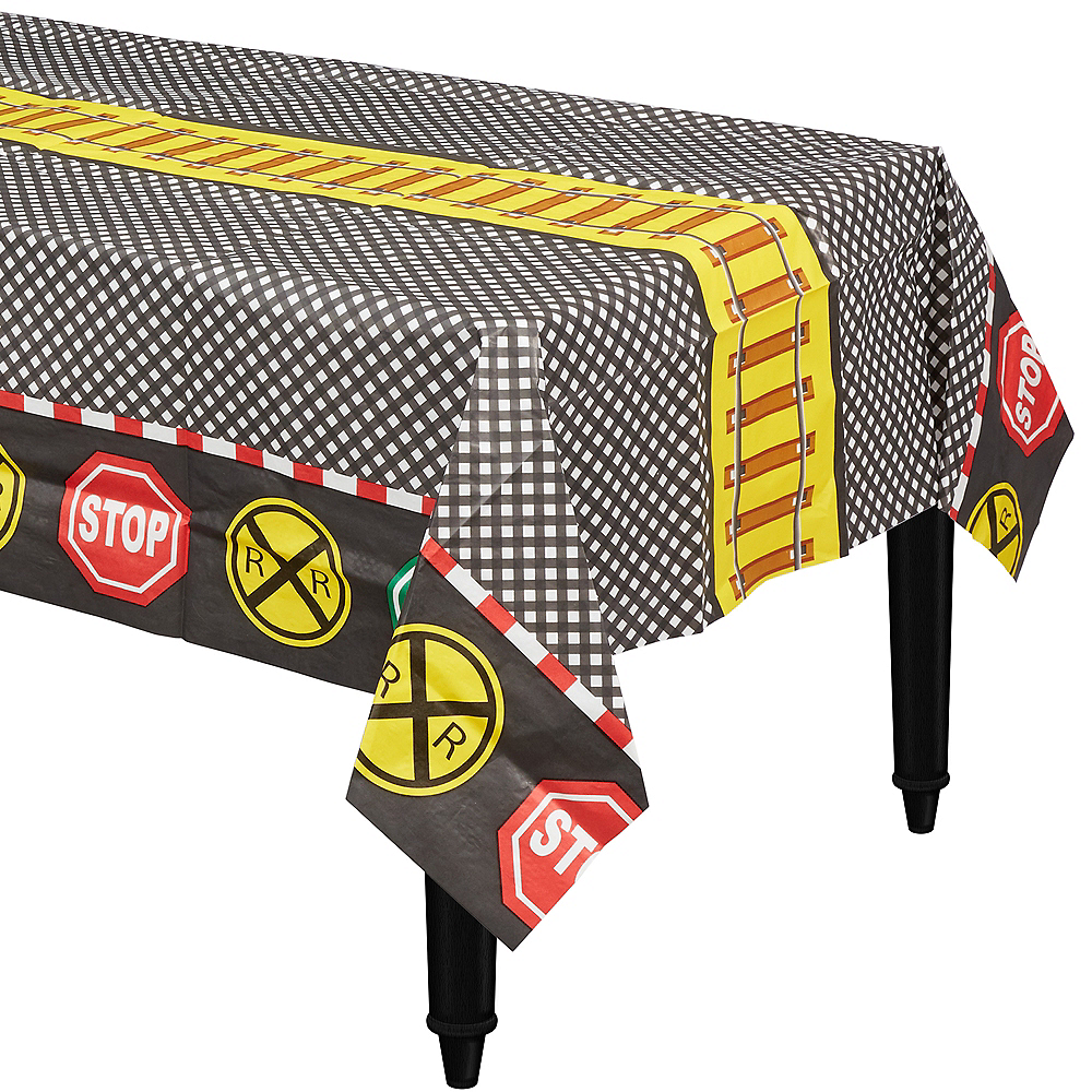 Railroad Paper Table Cover Image #1