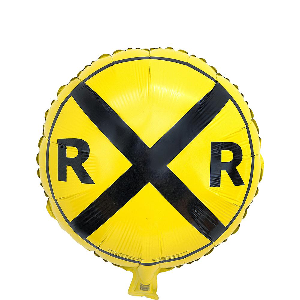 Railroad Crossing Balloon Image #1
