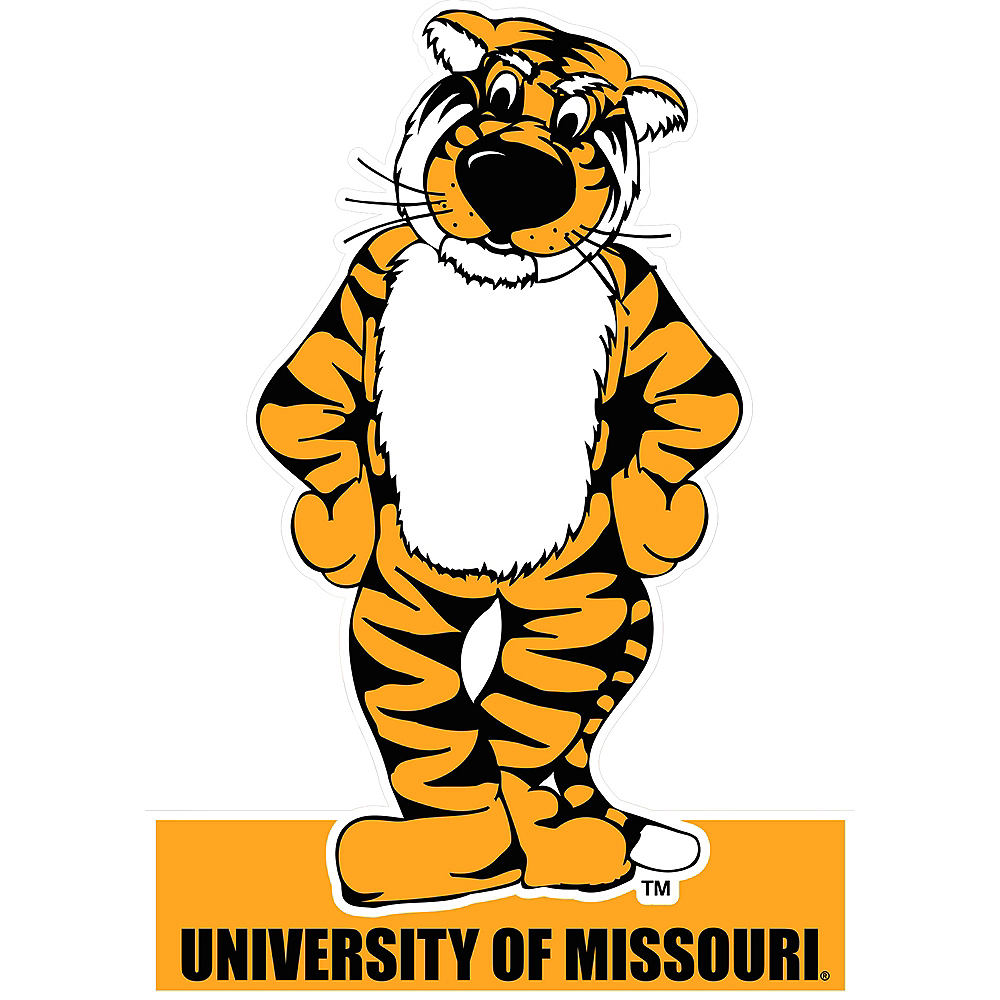 Missouri Tigers Mascot Table Sign Image #1