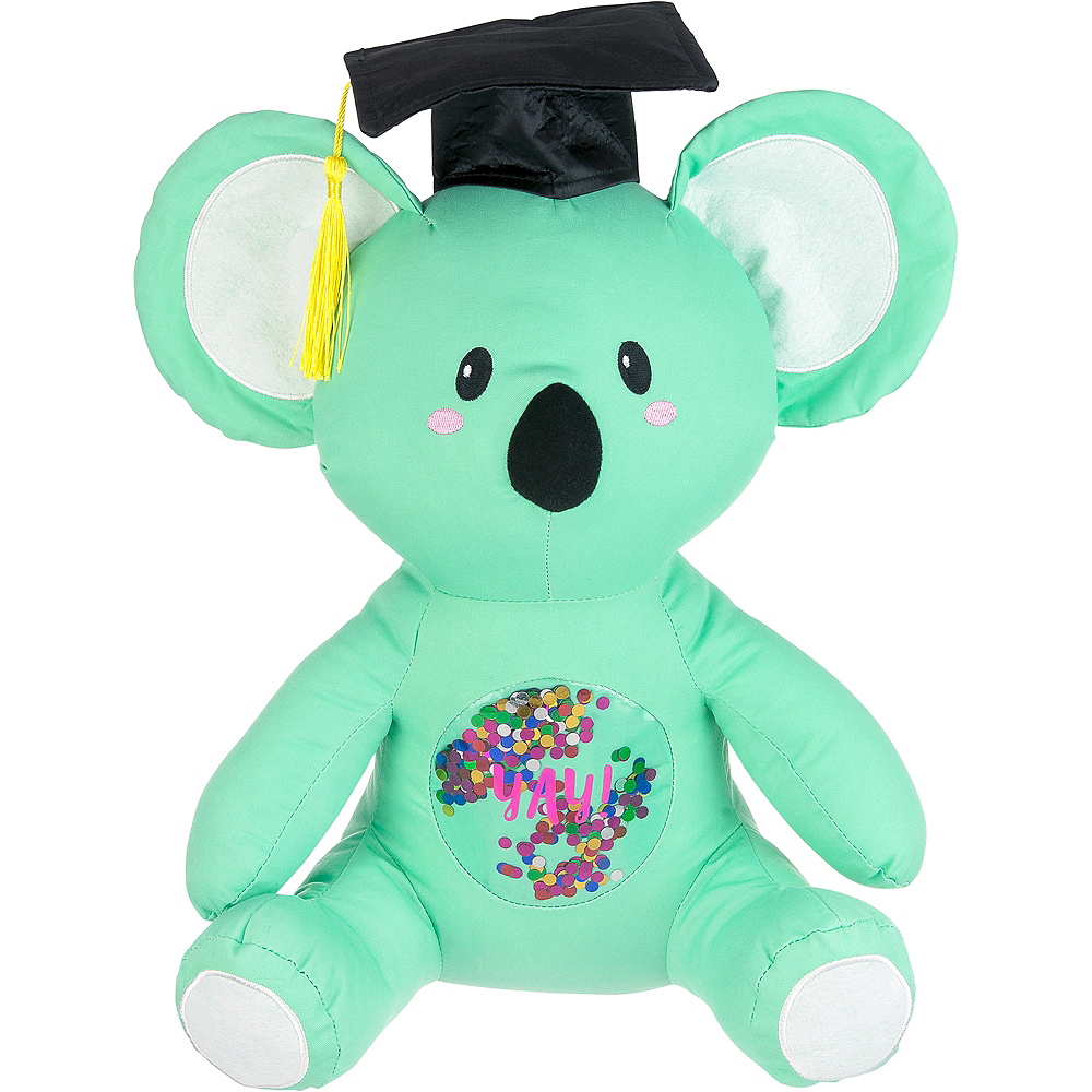 Confetti Graduation Autograph Koala 12 1 2in X 14in Party City