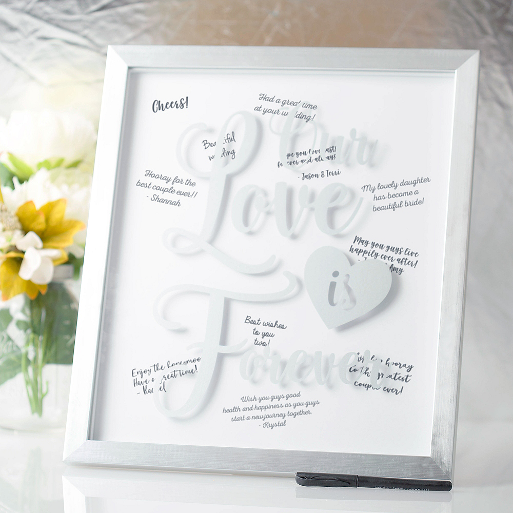 Our Love is Forever Guest Book Frame Image #1