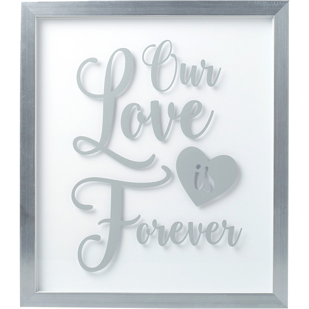 Our Love is Forever Guest Book Frame Image #2