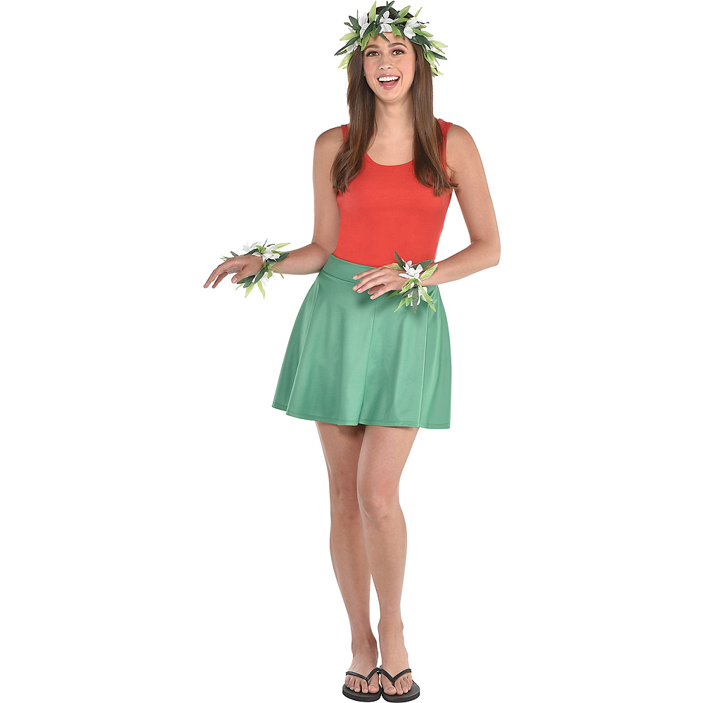 Womens Hula Dancer Costume Accessory Kit Image #1