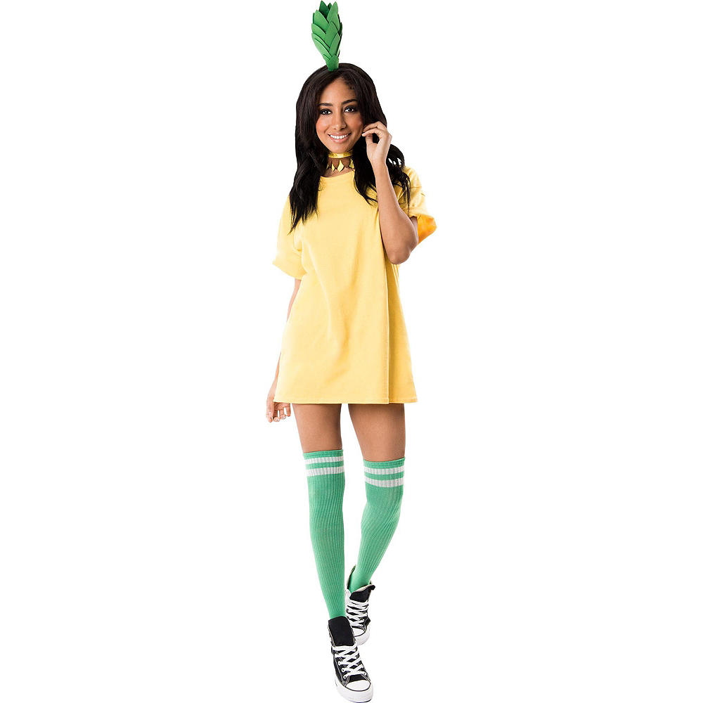 Womens Fruity Pineapple Costume Accessory Kit Image #2