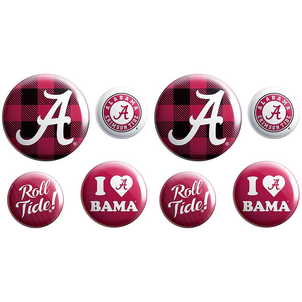 Alabama Crimson Tide Buttons 8ct Image #1