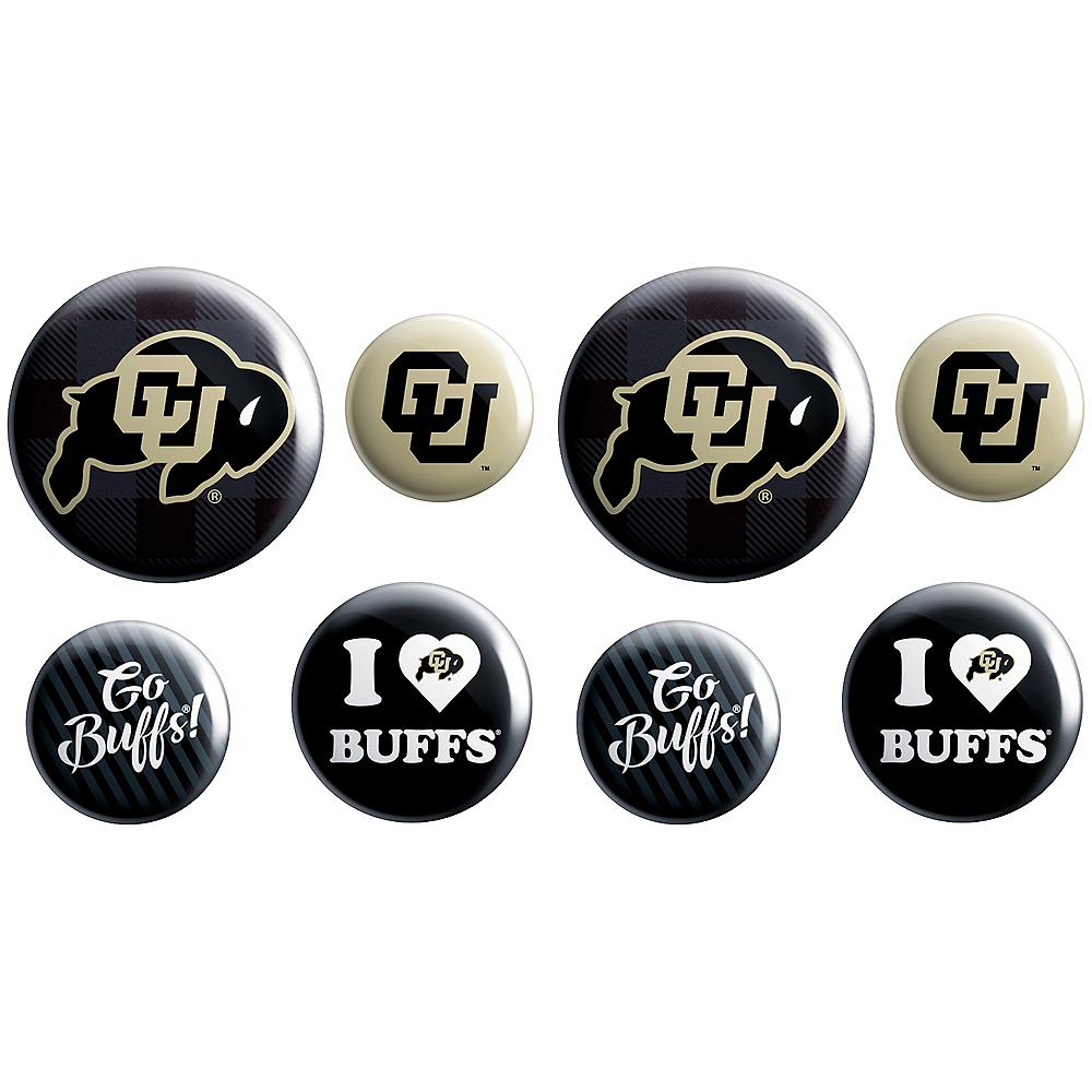 Colorado Buffaloes Buttons 8ct Image #1