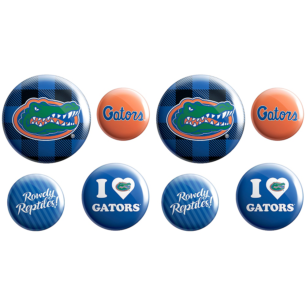 Florida Gators Buttons 8ct Image #1
