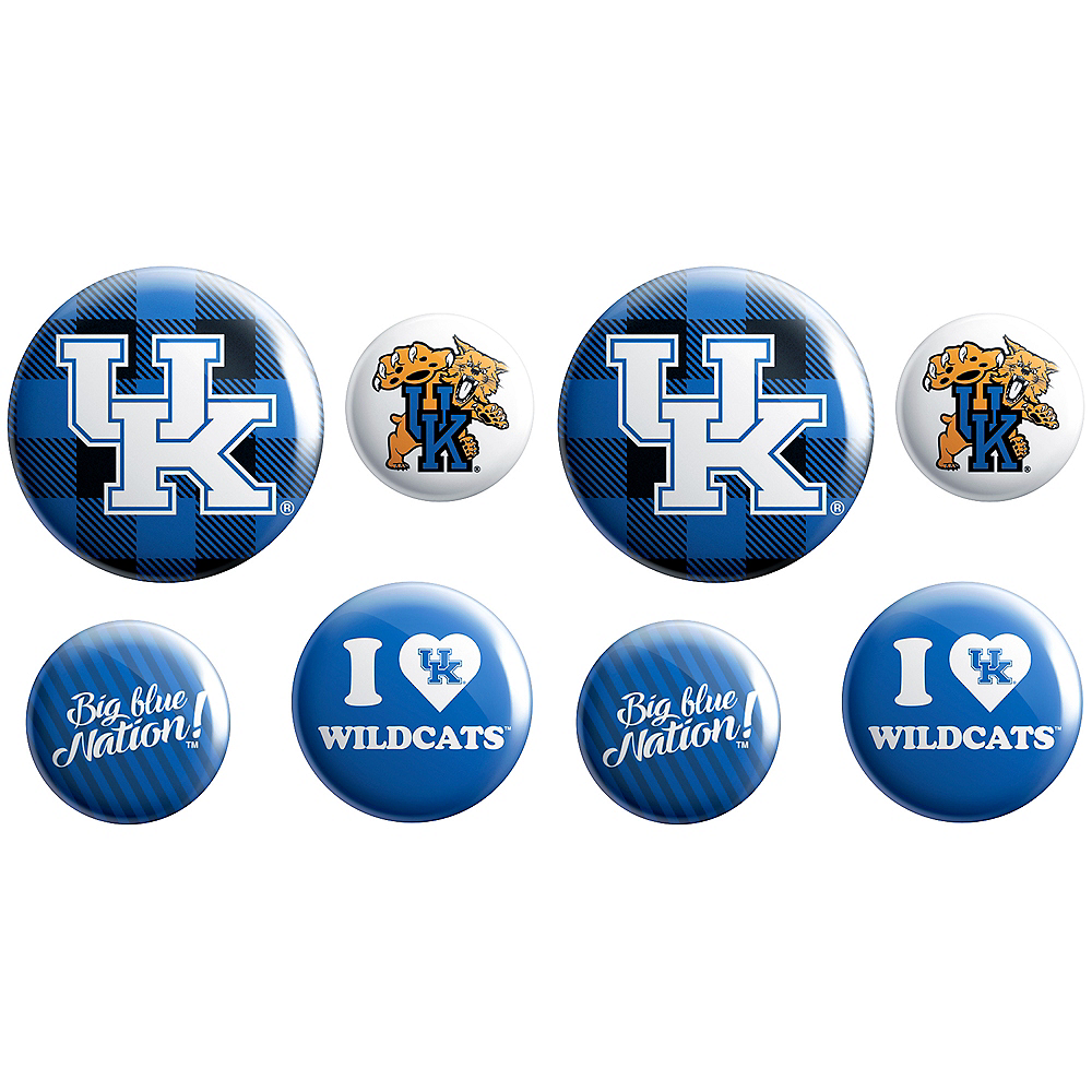 Kentucky Wildcats Buttons 8ct Image #1