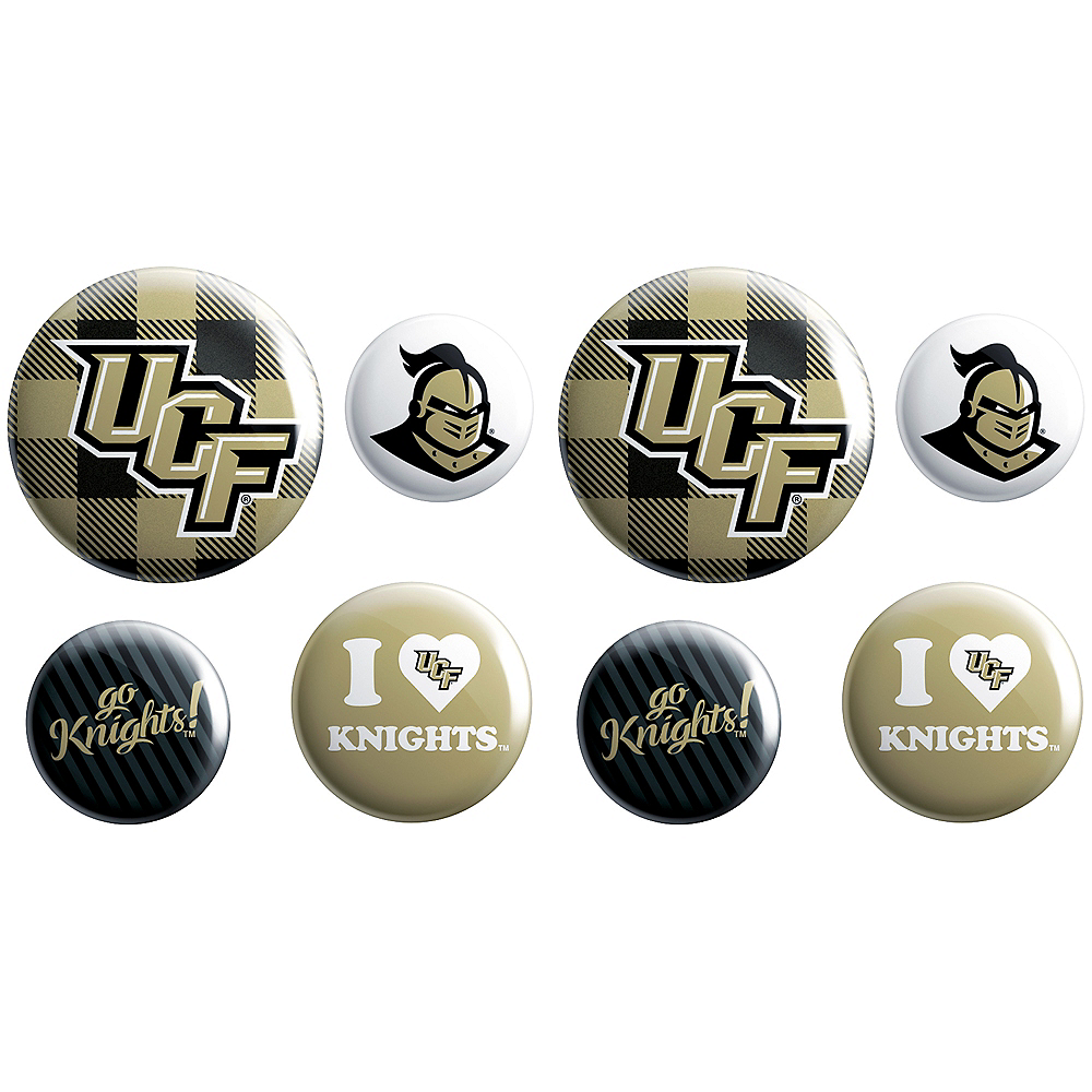 UCF Knights Buttons 8ct Image #1