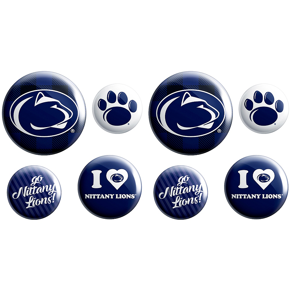 Penn State Nittany Lions Buttons 8ct Image #1