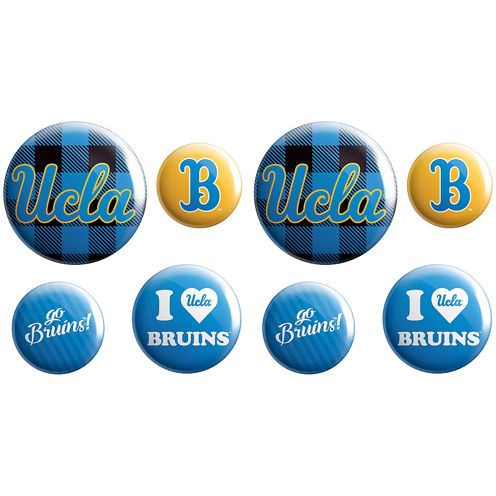 UCLA Bruins Buttons 8ct Image #1