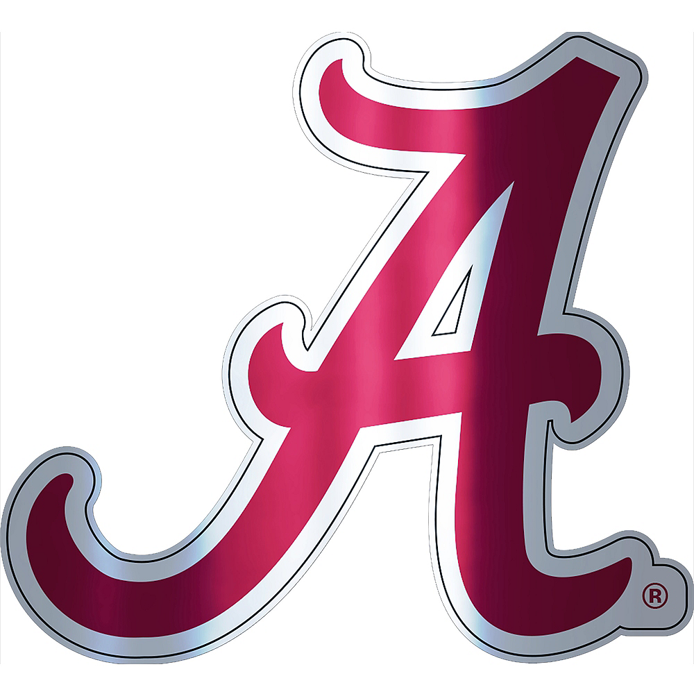 Alabama Crimson Tide Decal Image #1