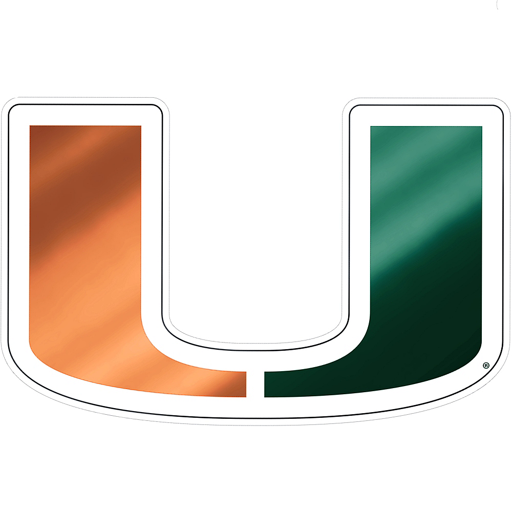 Miami Hurricanes Decal Image #1