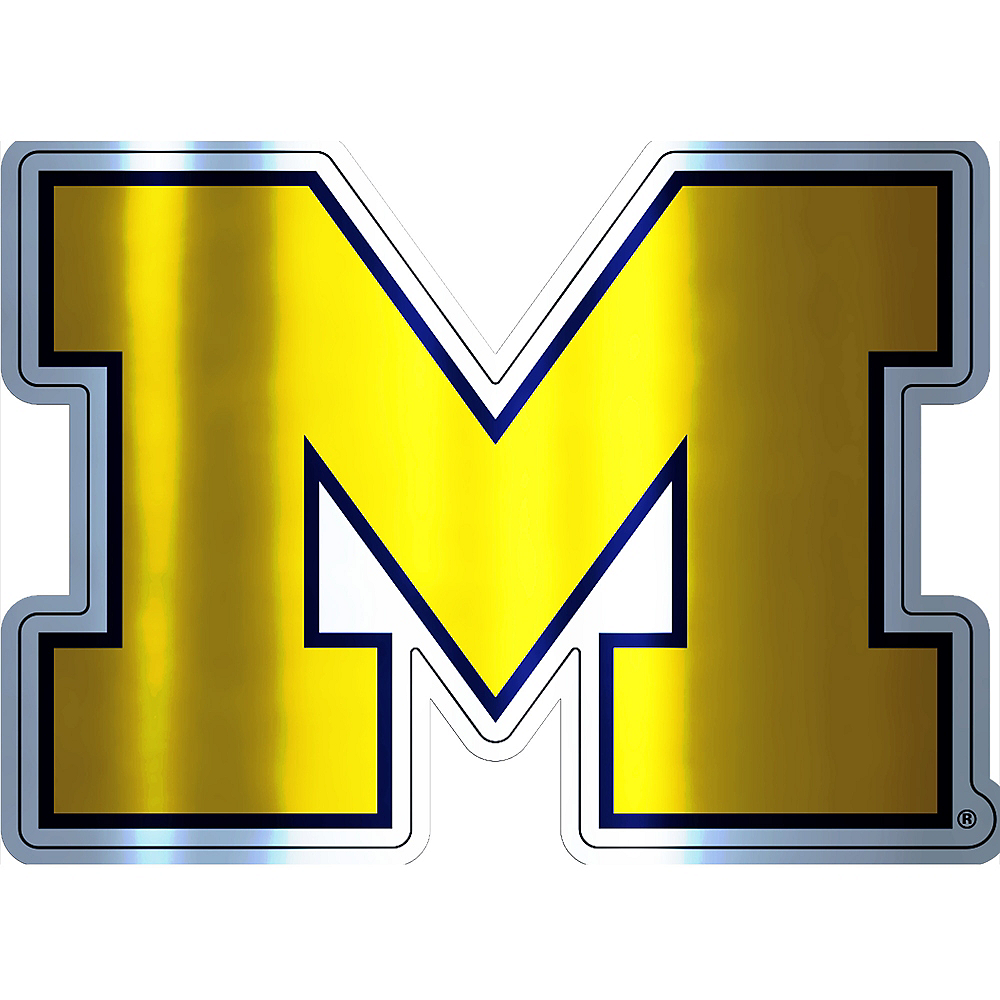 Michigan Wolverines Decal Image #1