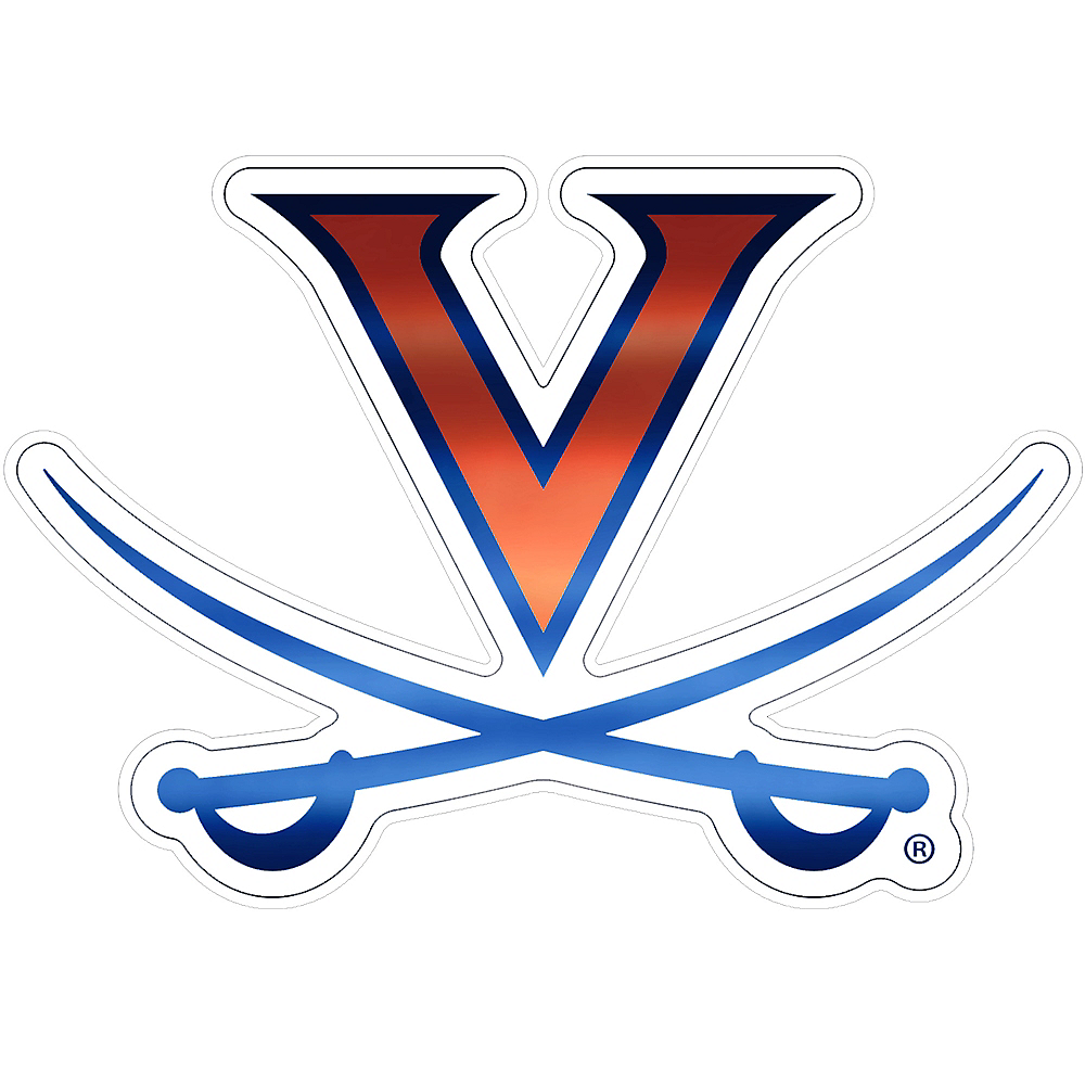 Virginia Cavaliers Decal Image #1