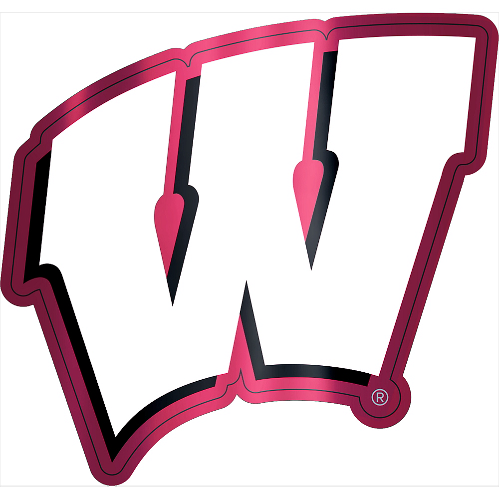 Wisconsin Badgers Decal Image #1