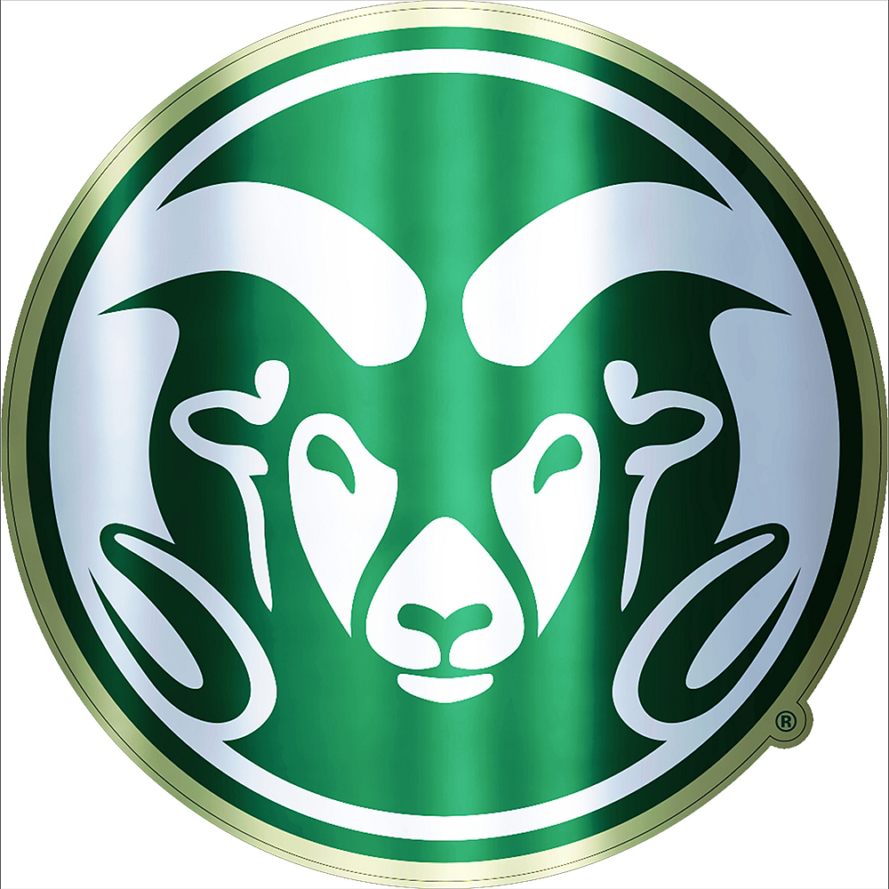 Nav Item for Colorado State Rams Decal Image #1