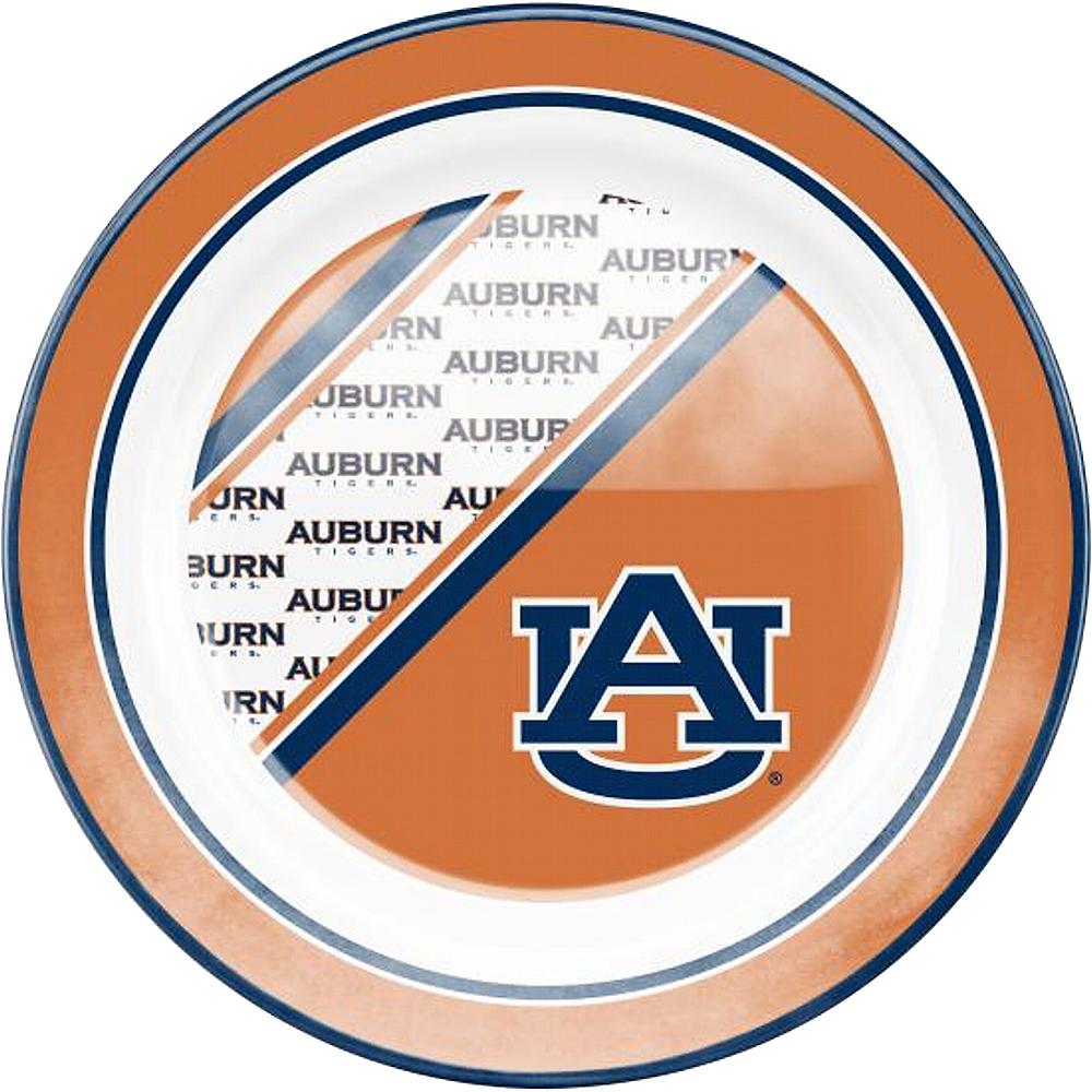 Auburn Tigers Plastic Dinner Plate Image #1