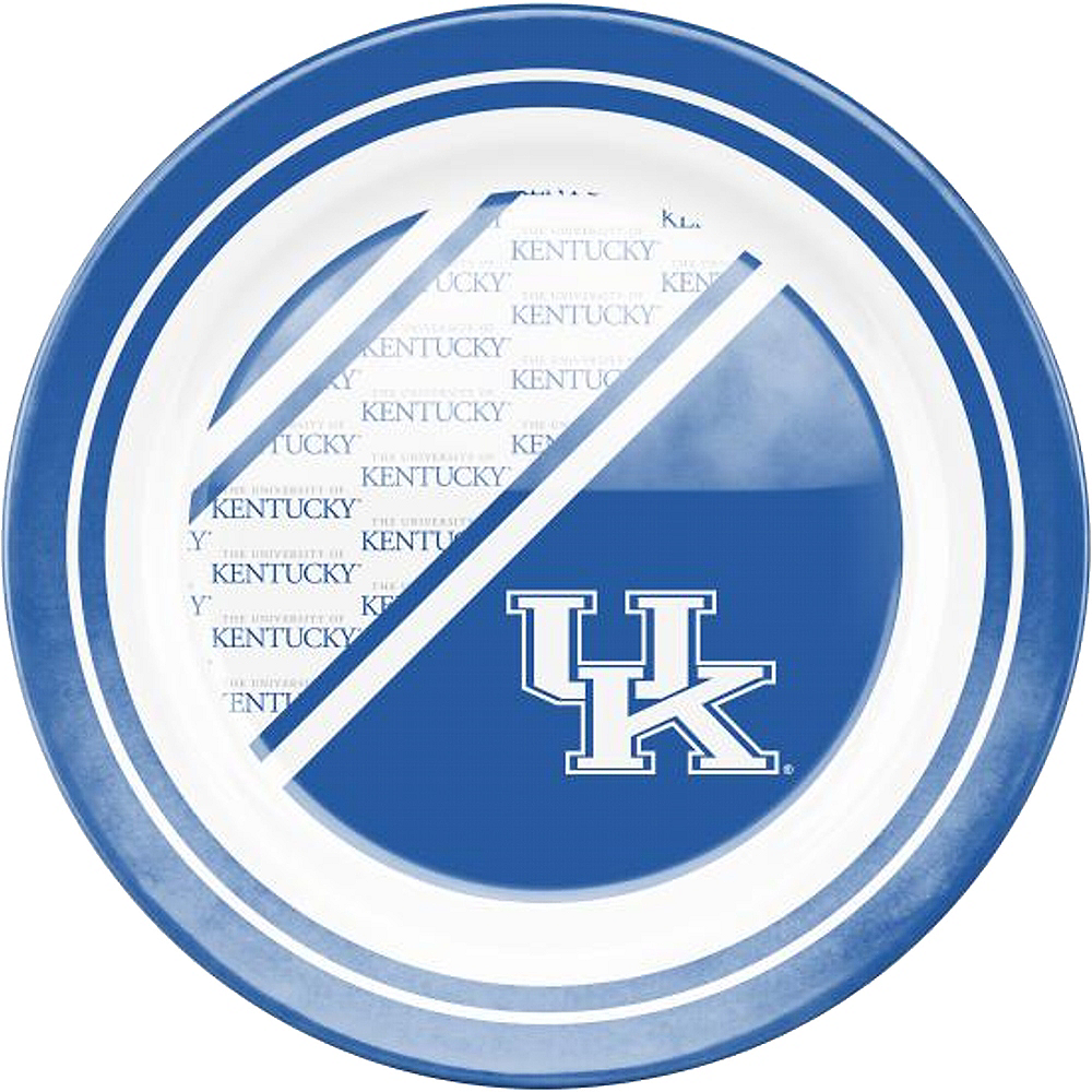 Kentucky Wildcats Plastic Dinner Plate Image #1