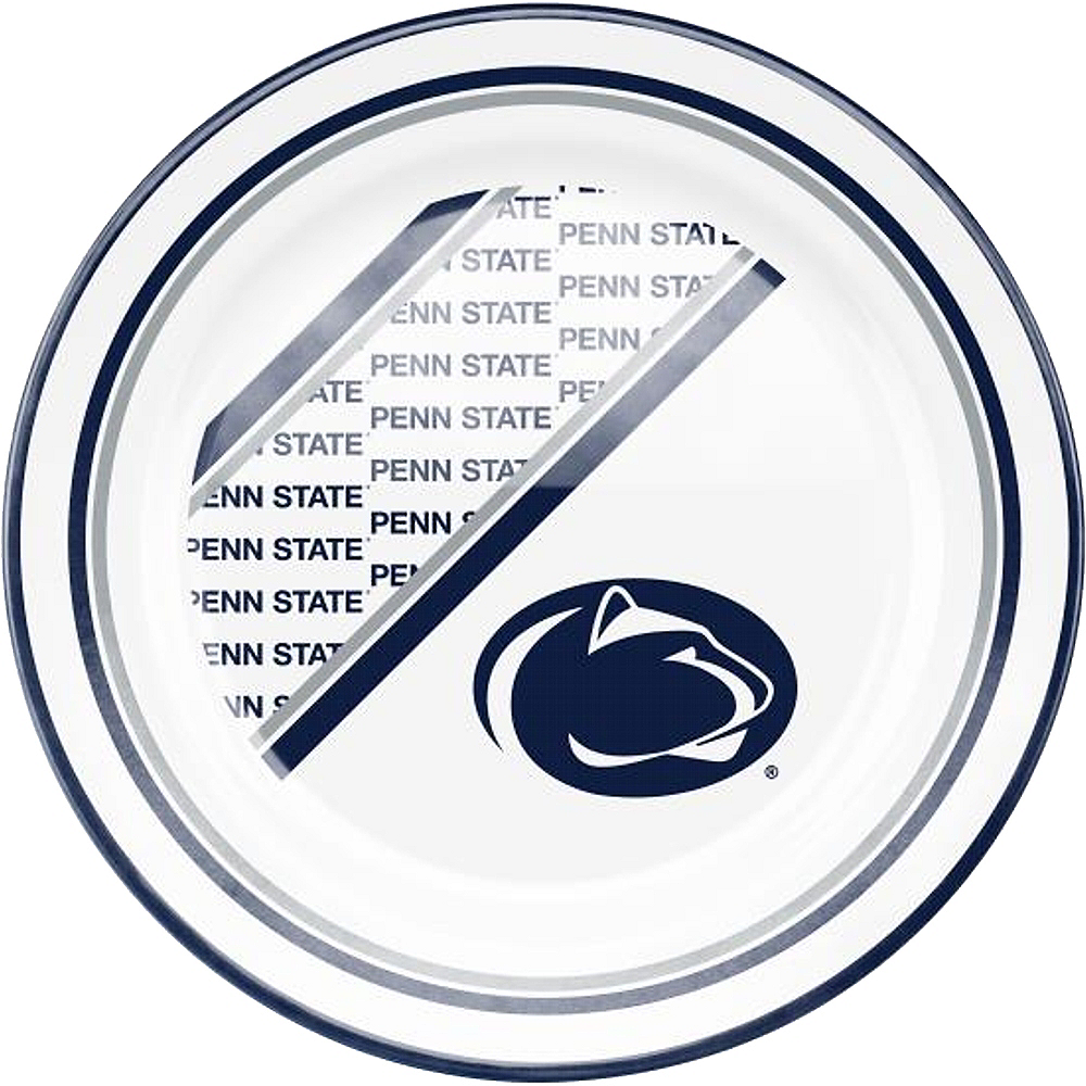 Penn State Nittany Lions Plastic Dinner Plate Image #1