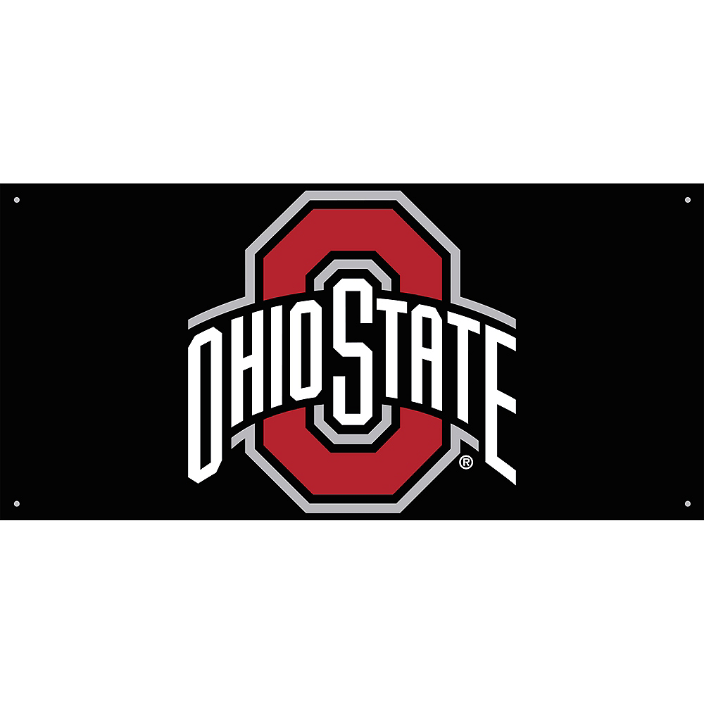 Ohio State Buckeyes Banner 4ft X 2ft Party City