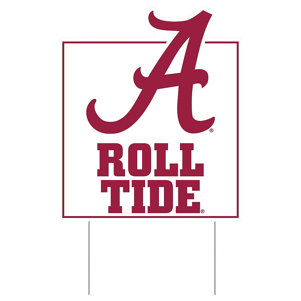Alabama Crimson Tide Lawn Sign Image #1