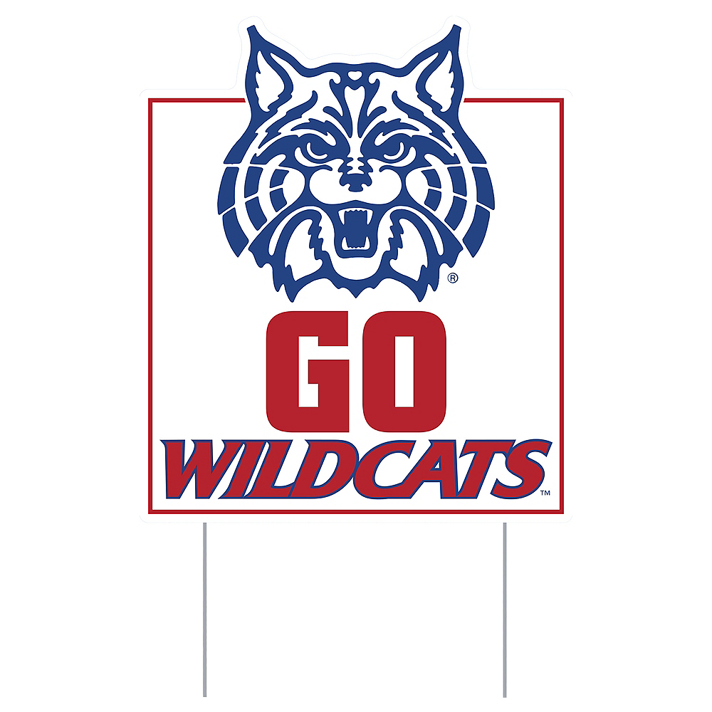 Nav Item for Arizona Wildcats Lawn Sign Image #1