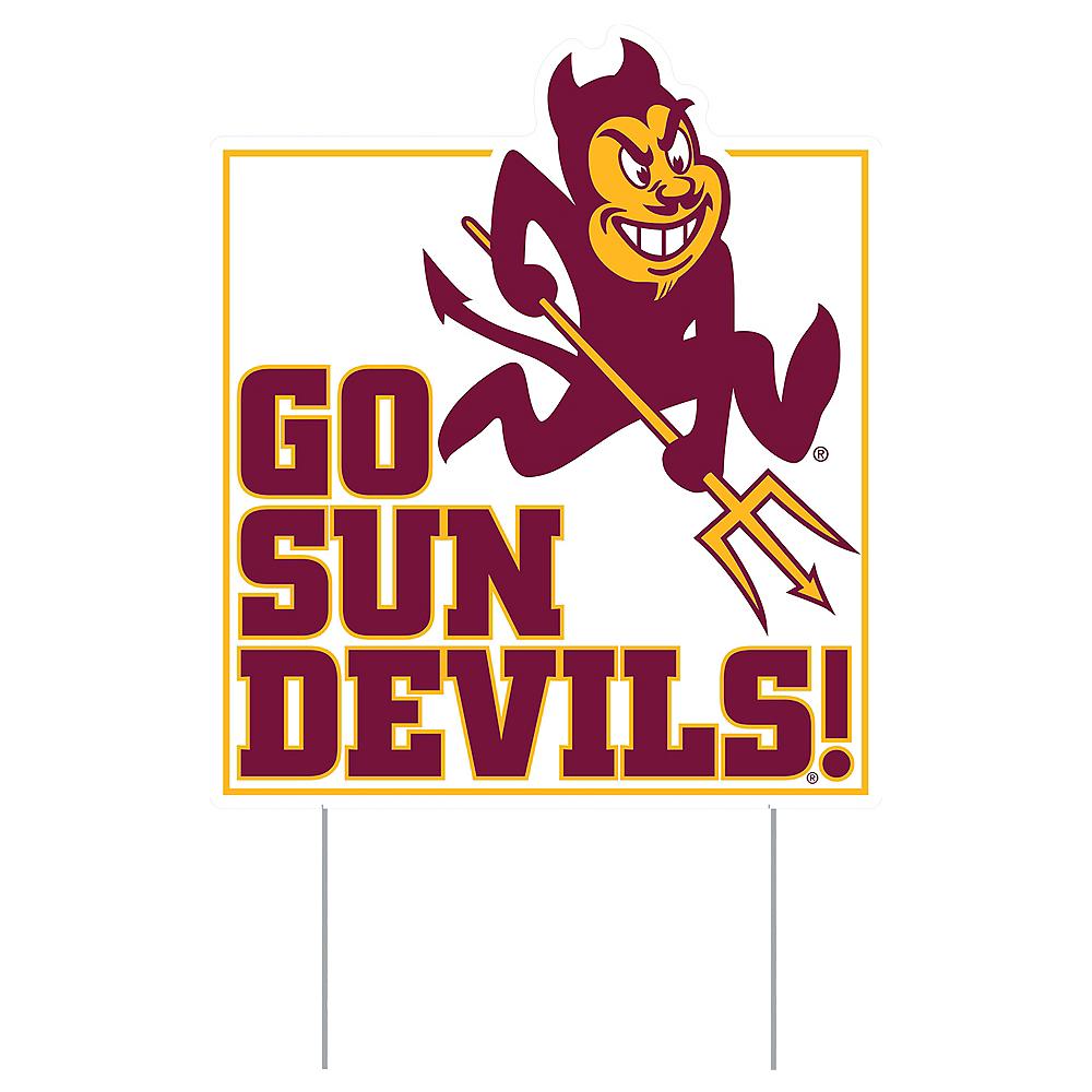 Arizona State Sun Devils Lawn Sign Image #1