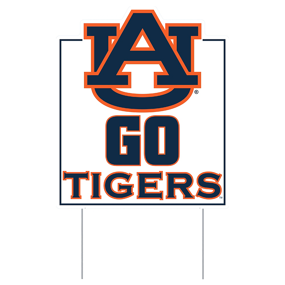 Nav Item for Auburn Tigers Lawn Sign Image #1