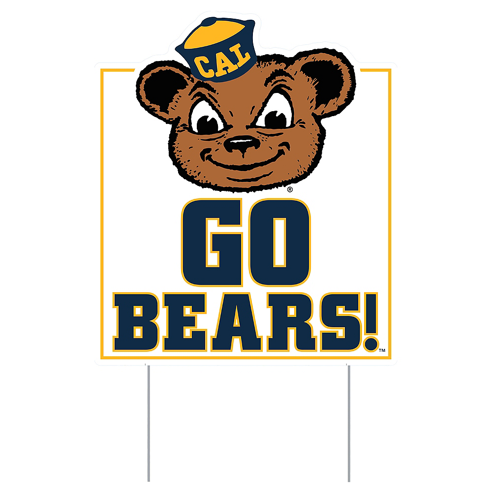 Cal Bears Lawn Sign Image #1